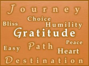 Gratitude etc